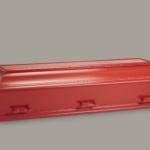 Rød kiste