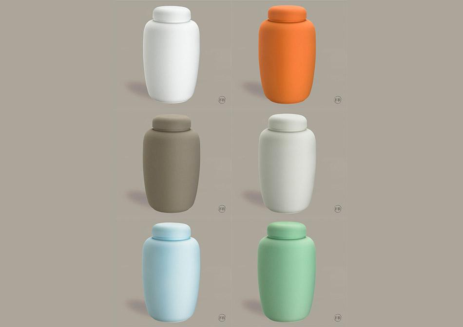 Økologiske urner i ler